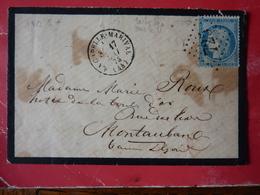 15.02.18_    LSC De La Chapelle-Marival A Voir! Sur 60 ! Verso!! - 1849-1876: Période Classique