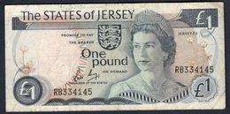 Jersey - 1 Pound 1976-1988 - P11b - Jersey