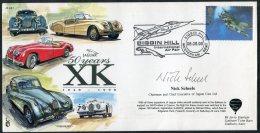 1998 GB Biggin Hill International Air Fair. Jaguar XK Car NATO Kosovo Signed Limited Edition (50) Flight Cover - 1952-.... (Elizabeth II)
