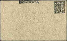 Let Pologne, Camp De Prisonniers Gross-Born Oflag IID, CP Entier 20gr. Noir, R Et TB - Stamps