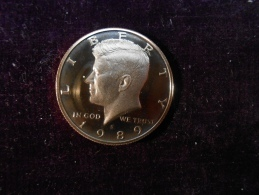 1989-S Proof Kennedy Half Dollar - Émissions Fédérales