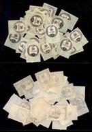 0017 ANTICHI STATI - LOMBARDO VENETO - Marche Da Bollo - 30 Pezzi Del 30 Cent (4-8) - Con Gomma (anche Parziale) E Senza - Timbres