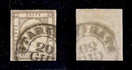 0034 ANTICHI STATI - NAPOLI - 1861 - Mezzo Grano (18) - Bel Colore - Timbres