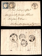 0035 ANTICHI STATI - NAPOLI - Lettera Da Modugno (Pt.8) A Foglianise Del 28.1.62 (19+20) - Timbres