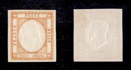 0036 ANTICHI STATI - NAPOLI - 1861 - 10 Grana Giallo Arancio (22e) - Nuovo Con Gomma - Molto Bello - Cert. AG - Non Classés