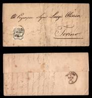 0046 ANTICHI STATI - PARMA - Lettera Da Parma A Torino Del 8.12.59 Affrancata Con Un 20 Cent (15) - Splendida - Cert. Bo - Timbres