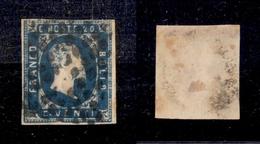 0062 ANTICHI STATI - SARDEGNA - 1851 - 20 Cent (2) - Punto Chiaro - Bel Colore - Timbres