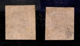 0064 ANTICHI STATI - SARDEGNA - 1853 - Bellissimo 40 Cent (6) Con Ottimi Margini - Nuovo Con Gomma - Diena + Cert. AG (2 - Timbres