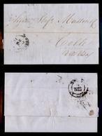 0090 ANTICHI STATI - TOSCANA - Governo Provvisorio - 31 Dicembre 1859 - Lettera Da Livorno A Colle V.d'Elsa - Non Classés