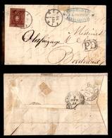 0095 ANTICHI STATI - TOSCANA - Lettera Da Firenze (Pt.7) A Bordeaux Del 1.10.61 Affrancata Con 40 Cent (21) Appena Stret - Timbres