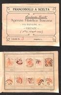 0099 ANTICHI STATI - TOSCANA - Antichi Stati - Lombardo Veneto - Libretto A Scelta D'epoca Con Circa 100 Esemplari Del 1 - Timbres