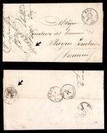 """0110 RISORGIMENTO ITALIANO - Lettera In Franchigia Da Roma A Cremona Del 29.12.1870 Con Manoscritto """"Il Comandante Del 3 - Timbres"""