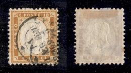 0117 REGNO - 1862 - 10 Cent (1) - Livorno 25.11.62 (700) - Non Classés