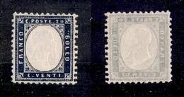 0119 REGNO - 1862 - 20 Cent (2) - Gomma Integra - Ottima Centratura (150) - Non Classés