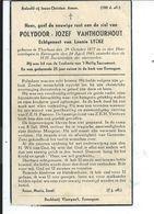 B.P.TORHOUT VANTHOURNOUT POLYDOOR 1877 - 1945 EERNEGEM - Religion & Esotericism