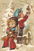 AUGURI - Buon Natale E Felice Anno Nuovo - Joyeux Noël Et Bonne Année - Merry Christmas & Happy New Year - Bambini -1981 - Non Classificati