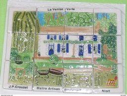 Sèrie De Fèves Complète  : La Maison Du Marais ( 79 Coulon ) JP CROUZET - Regions