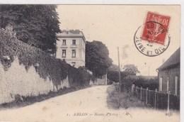 Ablon Route D Athis 1920 - Ablon Sur Seine