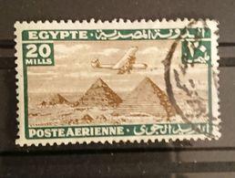 Egypte - 1933 YT PA 15 -  Oblitéré Poste Aérienne - Poste Aérienne