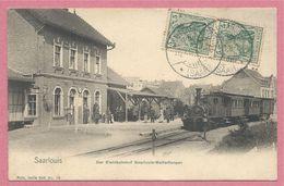 Allemagne - Saarland - SAARLOUIS - Nels Metz Série 600 N° 16 - Gare - Klein Bahnhof SAARLOUIS - WALLERFANGEN - Kreis Saarlouis