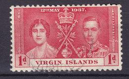 British Virgin Islands 1937 Mi. 69     1 P. King George VI. Coronation - British Virgin Islands
