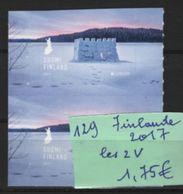 129  -- Finlande La V De 2017 En Bloc De 2 V - 1995