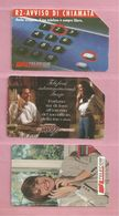Italie, Lot De 3 Télécartes, B - Lots - Collections