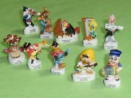 Sèrie De Fèves Complète  : Bunny Symphonie ; La Fete !! - Cartoons
