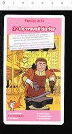 Le Travail Du Fer / Forgeron Enclume Soufflet De Forge Fabrication épée ?? Pinces Marteau Moyen-âge Histoire IM 218/2 - Vieux Papiers
