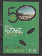 Hoja Bloque De Ecuador Nº Yvert HB-110 (**). - Ecuador