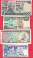Iles Du Monde 12 Billets 3 En UNC Et 9 Dans L 'état - Coins & Banknotes