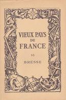 Laboratoires Mariner Vieux Pays De France N°16 Bresse Carte - Cartes Géographiques