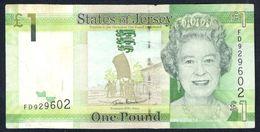 Jersey - 1 Pound 2010 - P35 - Jersey
