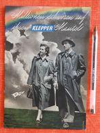 Catalogue Des Vêtements De Pluie KLEPPER : Klepper-Werke Rosenheim Obb - 1953 - Textile & Clothing