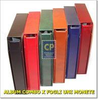 CARTELLA + CUSTODIA COMBO X NUMISMATICA COLORE VERDE - Supplies And Equipment