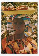 Surinam --Greetings  From Surinam  (costume,femme ,pipe,transport Des Fruits) - Surinam