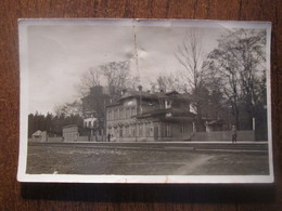 Before 1940  ESTONIA, AEGVIIDU RAILWAY STATION, DEFECT - Estonia