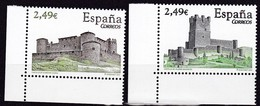 2007,  Spanien, 4254/55, Burgen.  MNH ** - 1931-Oggi: 2. Rep. - ... Juan Carlos I