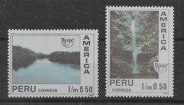 Serie De Perú Nº Yvert 958/59 (**). - Peru