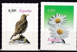 2007,  Spanien, 4258/59, Freimarken: Flora Und Fauna. MNH ** - 1931-Aujourd'hui: II. République - ....Juan Carlos I