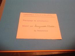 Institution Jeanne D Arc Château D Athesans Haute Saône Témoignage De Satisfaction Mérité - Diploma & School Reports