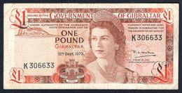 Gibraltar - 1 Pound 1979 - P20b - Gibraltar