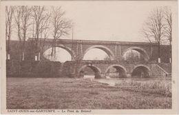 87   Saint  Ouen Sur Gartempe  Le Pont De Beissat - France