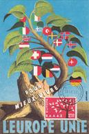 Carte-Maximum GRECE N° Yvert 774 (EUROPA) Obl Sp Ill 1er Jour (Ed MF) - Maximum Cards & Covers