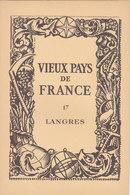 Laboratoires Mariner Vieux Pays De France N°17 Langres Carte - Cartes Géographiques