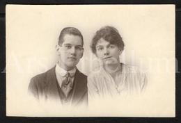 Photo Ancien / Foto / Photograph / Unused / Couple / Photographer The Hudson Studios / Birmingham / England - Photographie