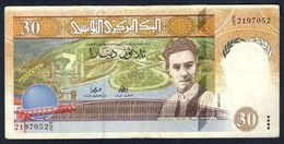 Tunisia - 30 Dinars 1997 - P89 - Tunisia