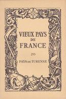 Laboratoires Mariner Vieux Pays De France N°20 Pays De Turenne Carte - Cartes Géographiques