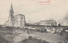 Saint Lys - Le Foirail - Scan Recto-verso - Montréjeau