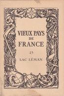 Laboratoires Mariner Vieux Pays De France N°23 Lac Léman Carte - Cartes Géographiques